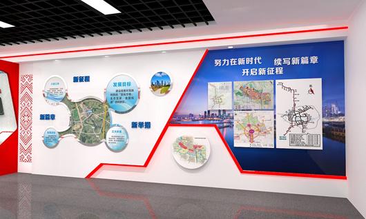 党建馆展厅设计效果图2