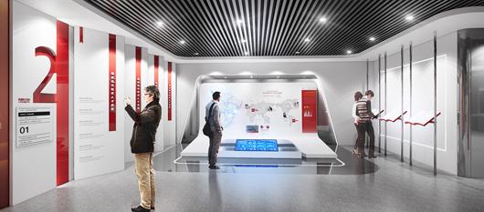 党建展厅设计效果图8