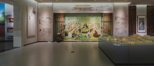博物馆展厅设计效果图7