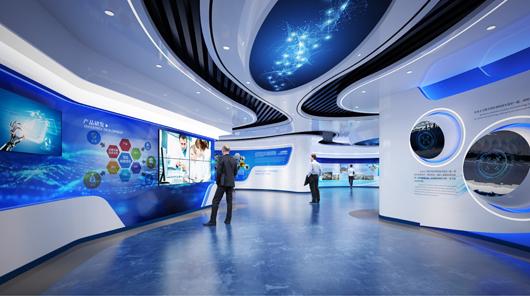 大数据展厅设计效果图9