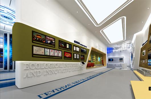科技产业园展厅设计方案之荣誉墙设计2