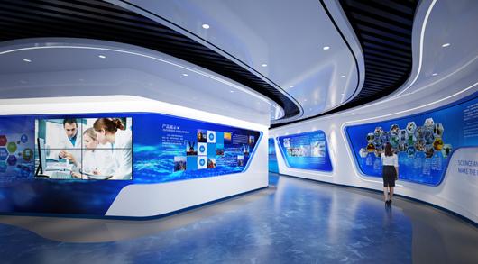 大数据展厅设计效果图6