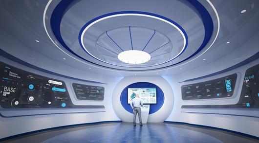 大数据展厅设计效果图11