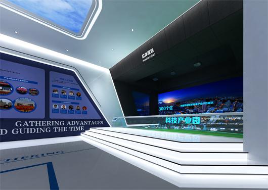 科技产业园展厅设计方案之大厅设计