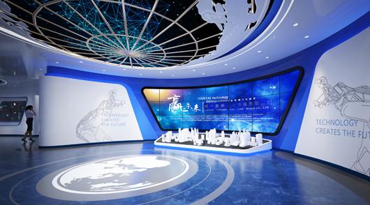 大数据展厅设计效果图1