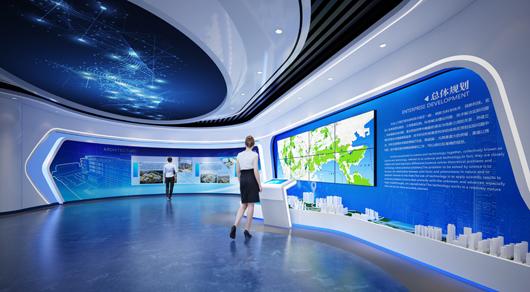 大数据展厅设计效果图8