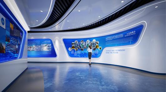 大数据展厅设计效果图5