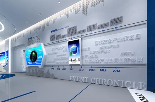 科技产业园展厅设计方案之荣誉墙设计