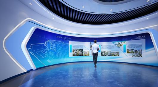 大数据展厅设计效果图7