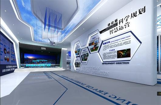 科技产业园展厅设计方案之展示区域设计效果图4