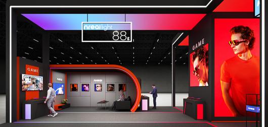 世界移动通信大会展台设计搭建方案之内部设计效果图2