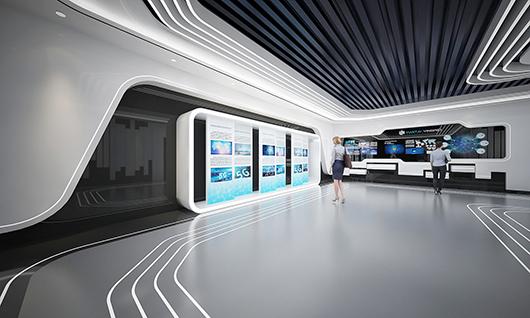 5g展厅设计方案之内部设计效果图4