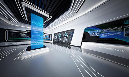 5g展厅设计方案之内部设计效果图7