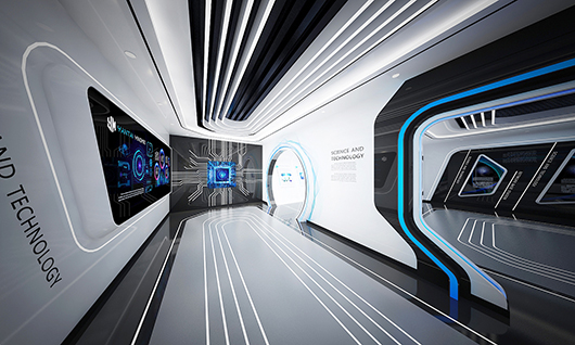 5g展厅设计方案之内部设计效果图13