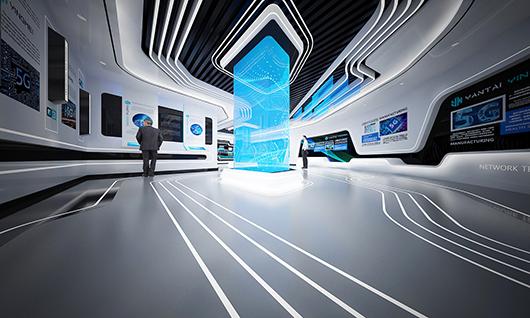 5g展厅设计方案之内部设计效果图10