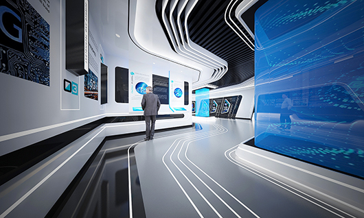5g展厅设计方案之内部设计效果图21