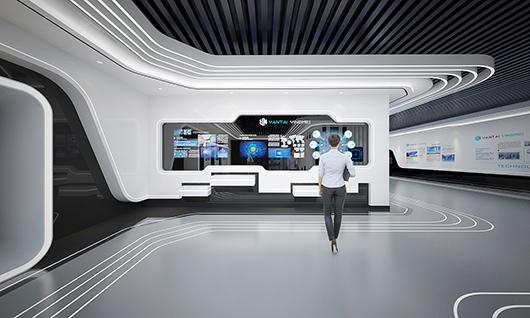 5g展厅设计方案之内部设计效果图8