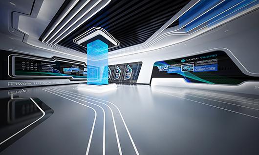 5g展厅设计方案之内部设计效果图5