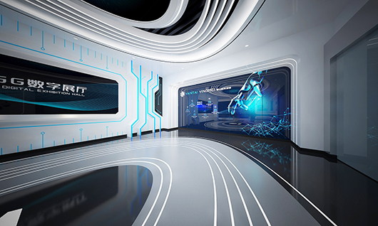 5g展厅设计方案之内部设计效果图3