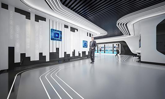 5g展厅设计方案之内部设计效果图22