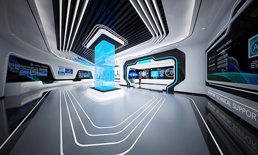 5g展厅设计方案之内部设计效果图23