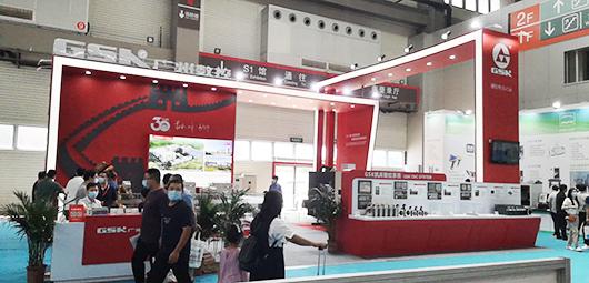 青岛国际机床展览会展台设计搭建的现场效果图2