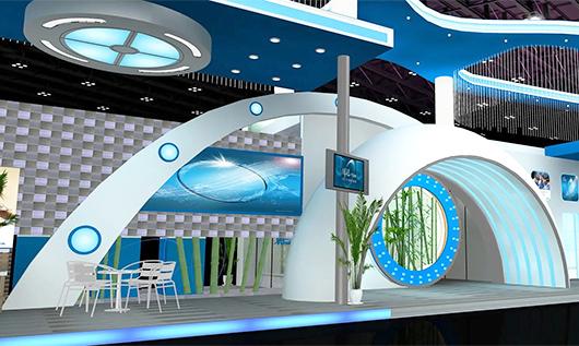 大型展台设计效果图5
