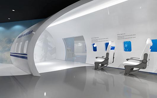 机械展厅设计效果图7