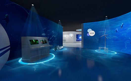 机械展厅设计效果图6