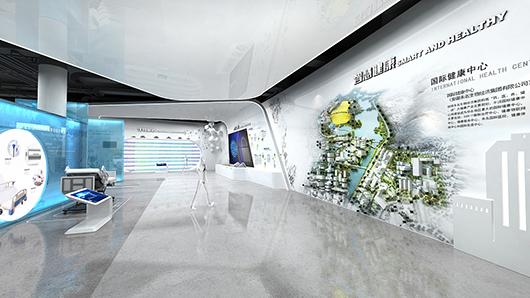 医疗器械展厅设计效果图7