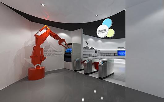 机械展厅设计效果图10