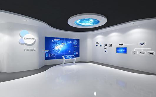 机械展厅设计效果图2