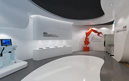 机械展厅设计效果图11