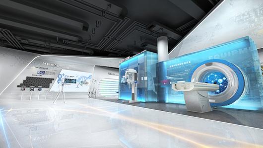 医疗器械展厅设计效果图10