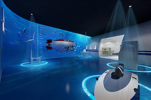 机械展厅设计效果图5