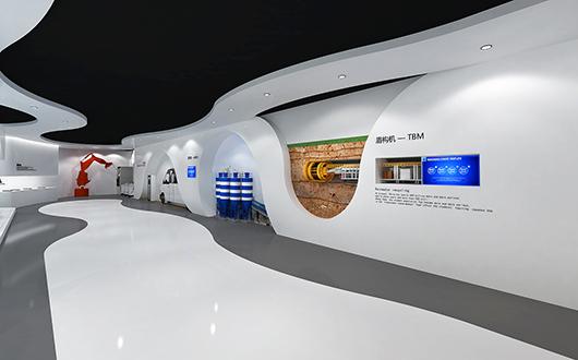 机械展厅设计效果图14