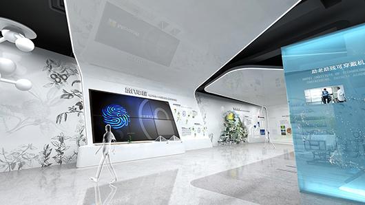 医疗器械展厅设计效果图5
