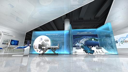 医疗器械展厅设计效果图