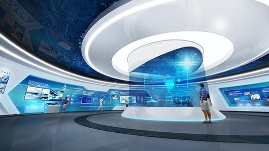 医疗展馆展厅设计施工案例展示
