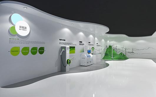 机械展厅设计效果图4