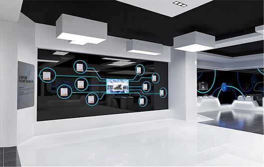 新能源汽车展厅设计方案之专利设计效果图