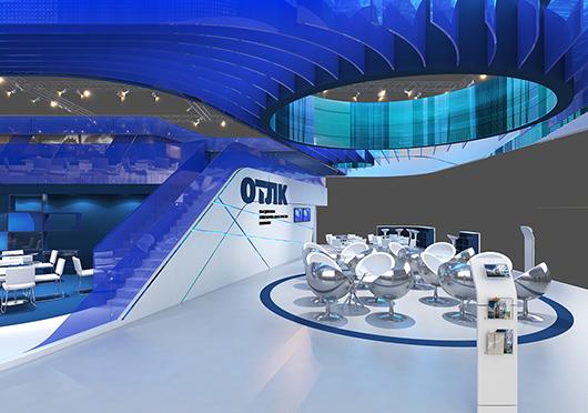 展览设计搭建方案之内部设计效果图