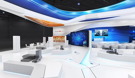 展会展览搭建方案之内部设计效果图3