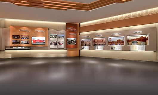 政府展厅设计效果图5