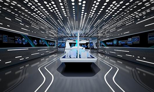多媒体智能展厅设计方案之内部设计效果图