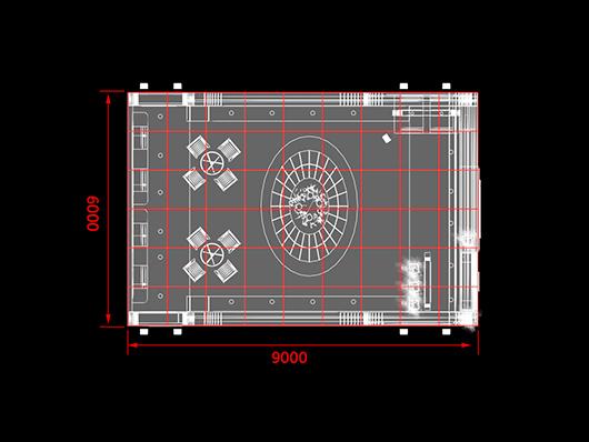 展位设计平面图
