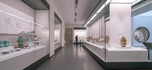 博物馆展厅设计案例的展示设计效果图