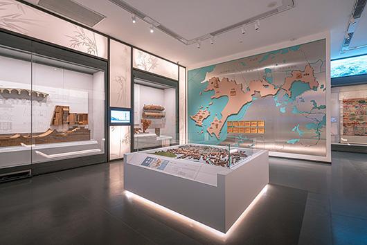 博物馆展厅设计案例的展陈设计效果图3