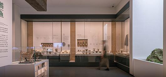 博物馆展厅设计案例的展陈设计效果图4