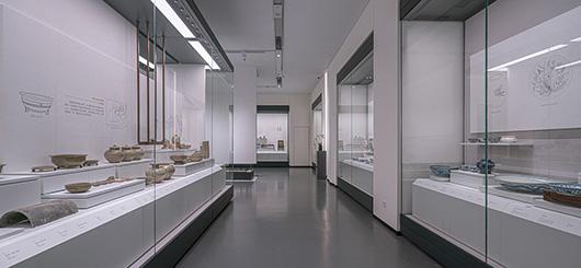 博物馆展厅设计案例的展陈设计效果图2